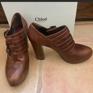 Chloe Buckle Bootie like NEW w/ box